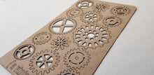 Load image into Gallery viewer, A Gaggle of Gears Chipboard Sheet