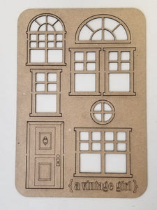 Sweet Home Chipboard Set