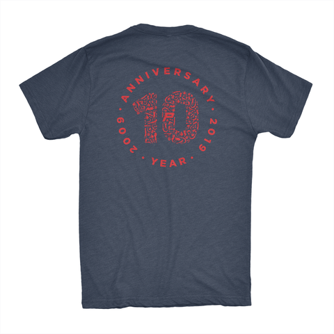 Primo 10th Anniversary Muscle Shirt: Navy