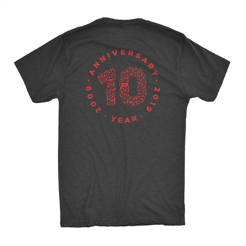 Primo 10th Anniversary Muscle Shirt: Black