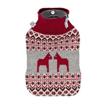 Load image into Gallery viewer, Dalarna Pattern Hot Water Bottle