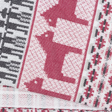 Load image into Gallery viewer, Dalarna Pattern Swedish Cotton Towel