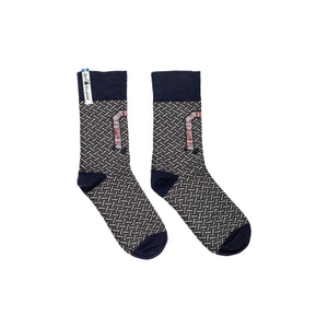 Futhark Pattern Swedish Everyday Socks