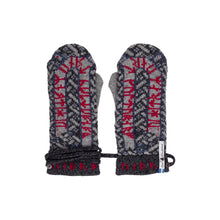 Load image into Gallery viewer, Futhark Pattern Swedish Mittens