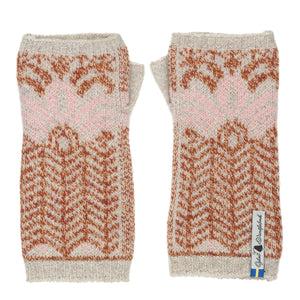 Fager Pattern Swedish Wrist Warmers