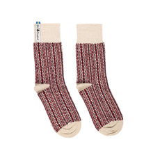 Load image into Gallery viewer, Lycksele Pattern Swedish Everyday Socks