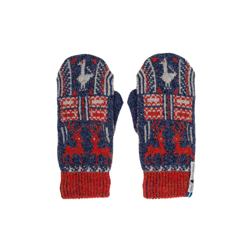 Scania Marta Pattern Swedish Mittens