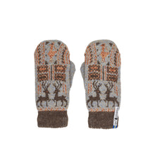 Load image into Gallery viewer, Scania Marten Pattern Swedish Mittens
