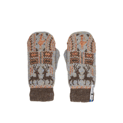 Scania Marten Pattern Swedish Mittens