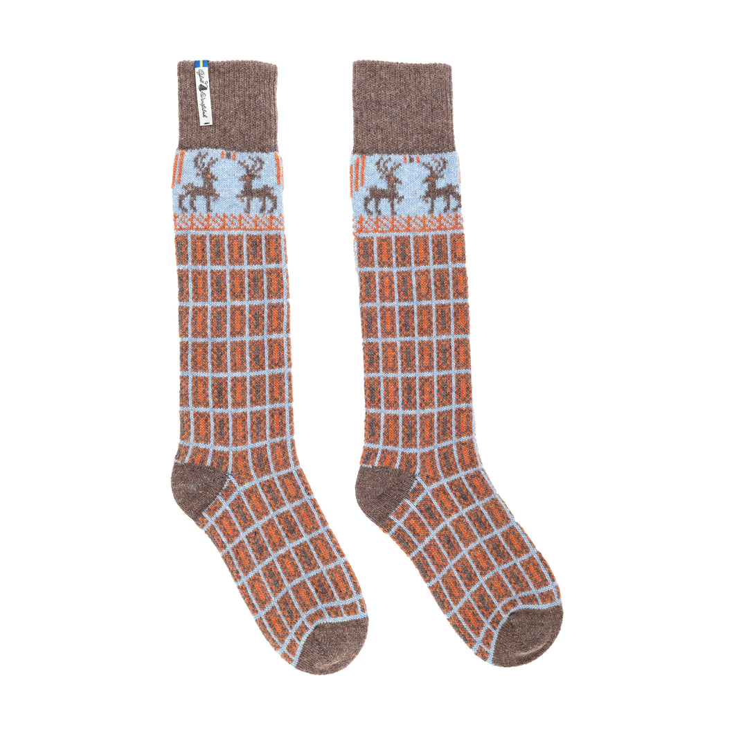 Scania Marten Pattern Swedish Socks