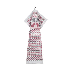 Dalarna Pattern Swedish Cotton Towel