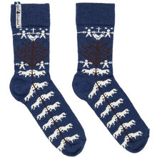 Load image into Gallery viewer, Yggdrasil Pattern Swedish Merino Everyday Socks