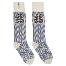 Load image into Gallery viewer, Gotland Pattern Swedish Socks