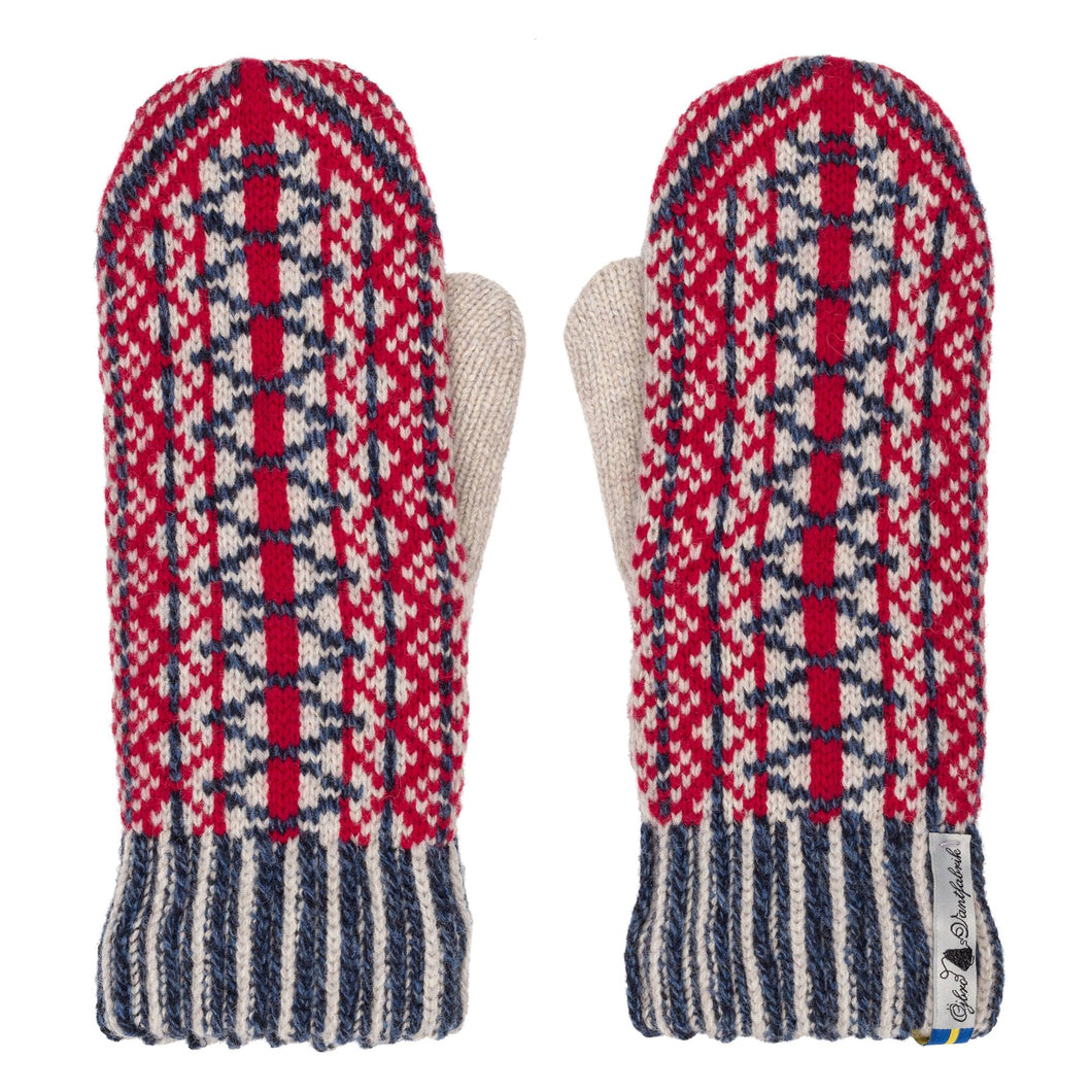 Lycksele Pattern Swedish Mittens