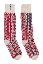 Load image into Gallery viewer, Lycksele Pattern Swedish Socks