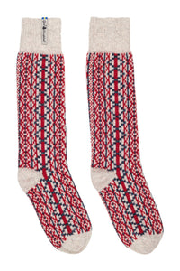 Lycksele Pattern Swedish Socks