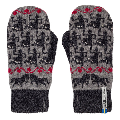 Ringdans Pattern Swedish Mittens