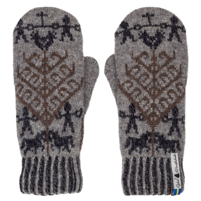 Yggdrasil Pattern Swedish Mittens