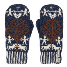 Load image into Gallery viewer, Yggdrasil Pattern Swedish Mittens