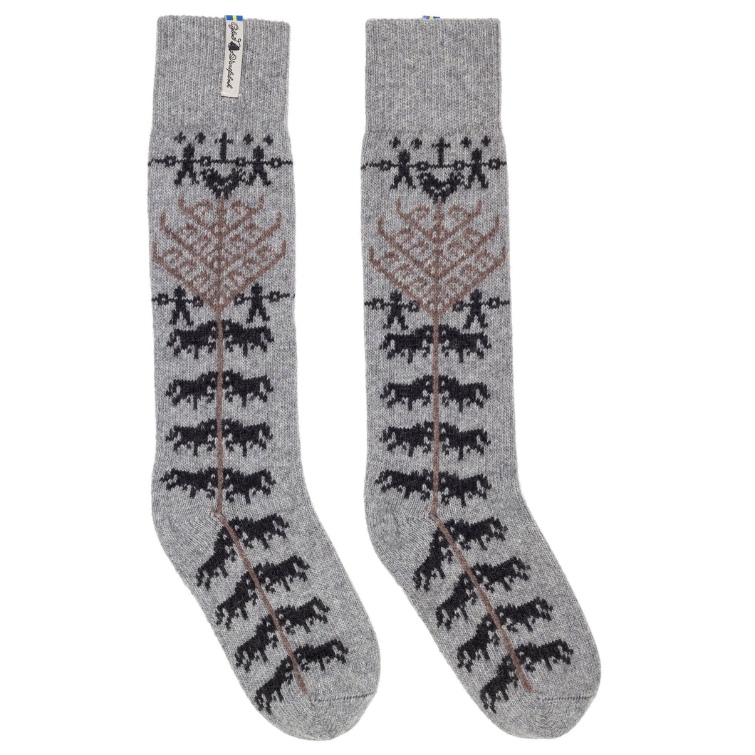 Yggdrasil Pattern Swedish Socks