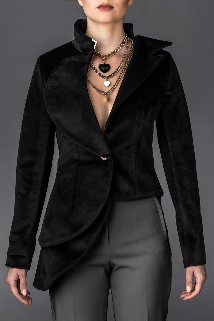 Women's Black Jacket Diana