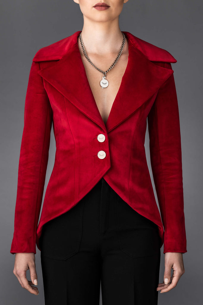 Women's Red Jacket Erin