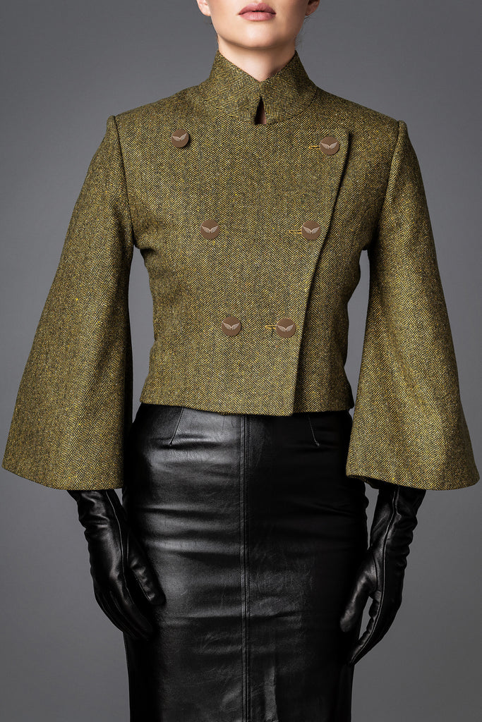 Women's Wool Jacket - Brilliance Yellow