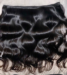 Raw Indian Temple Natural Wavy