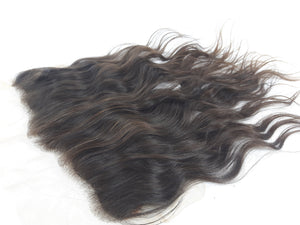 Raw Indian Temple Lace Frontal