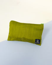 Load image into Gallery viewer, Raw Silk Travel Pouch (Olive Green) - Fits 6 x 10ml bottles