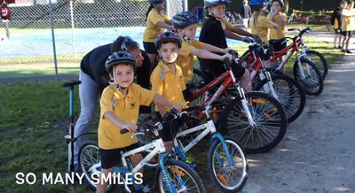 Kids Riding at School Does More Than Just Teach Bike Skills