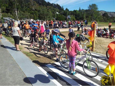 Local Council and Community Come Together To Support Kids Bikes in Schools Program in New Zealand
