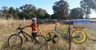 Beechworth to Everton Rail Trail - 16km of easy family riding