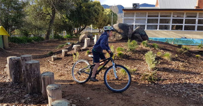Bike skills and safety clinics for kids learning to ride at school