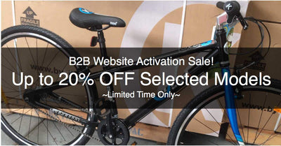 20% Off Selected Models - Website Activation Special Offer