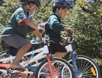 The Benefits of Kids Riding Bikes to School