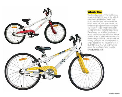 Wheely Cool Kids Bikes - Treadlie Magazine Finds Out Why ByK Bikes are The Coolest Bikes for Kids