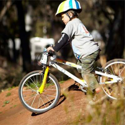 From Balance Bikes to Kids Mountain Bikes - the Urban Pump Track is a Favourite