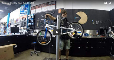 Watch an E-350 Kids Bike Build in Time Lapse