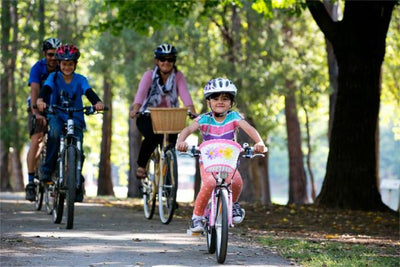 The Murray to Mountains Rail Trail is Great for Families and Kids on Bikes