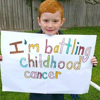 charlie-battling-cancer-sign