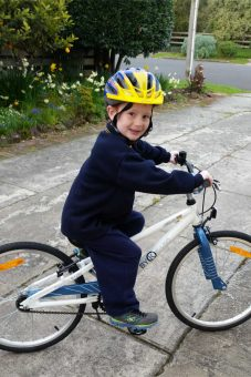 charlie-on-his-new-e450-kids-bike