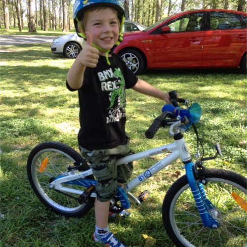 E-350 4 Year Old Boys Bike Review
