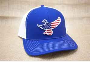 Royal Blue USA Mallard Hat