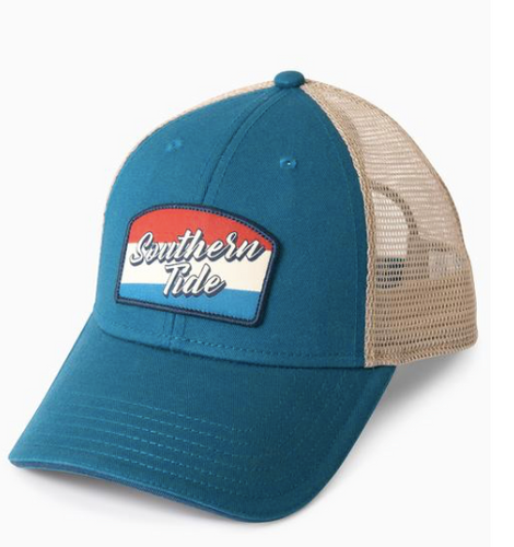 Southern Tide Flag Patch Trucker