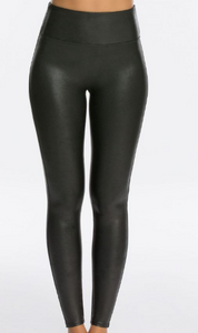 SPANX | Faux Leather Leggings {Black}