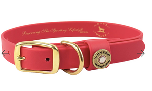 Over Under | Dog Collar {Red}