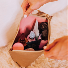 Load image into Gallery viewer, Hollis | Camilla Couture Makeup Bag