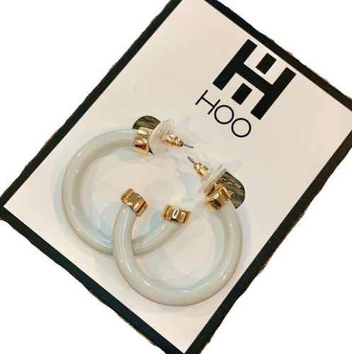HOO Hoops | Mini Bone White