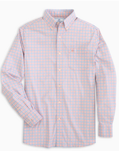 Southern Tide | Basin Button Down {Crustacean}